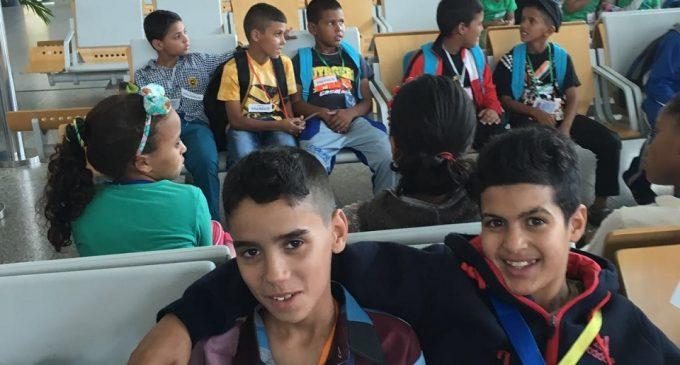 Vacaciones 'en paz' para 12 niños saharauis