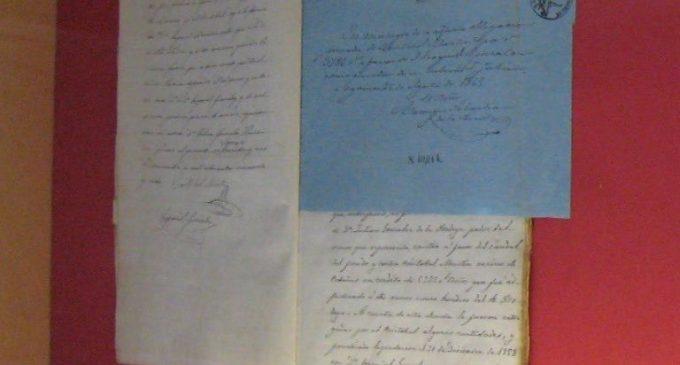 Un Ezequiel González 'oculto' en el Archivo provincial