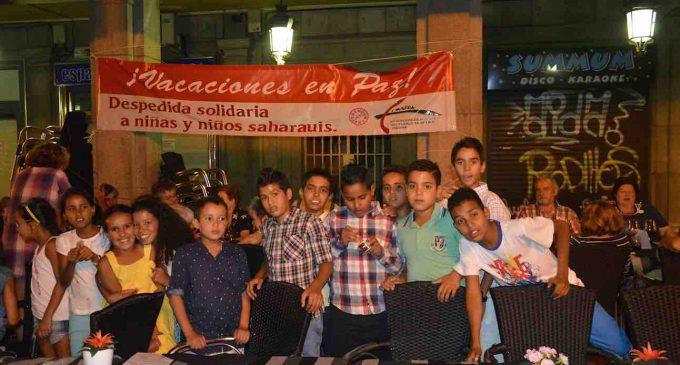 Cena de despedida a los niños Saharauis