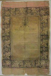 Pieza desconocida Virgen de la Fuencisla copia