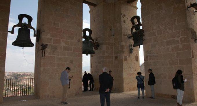 Más de 1.000 visitantes acceden a la torre de la Catedral de Segovia en el día de puertas abiertas