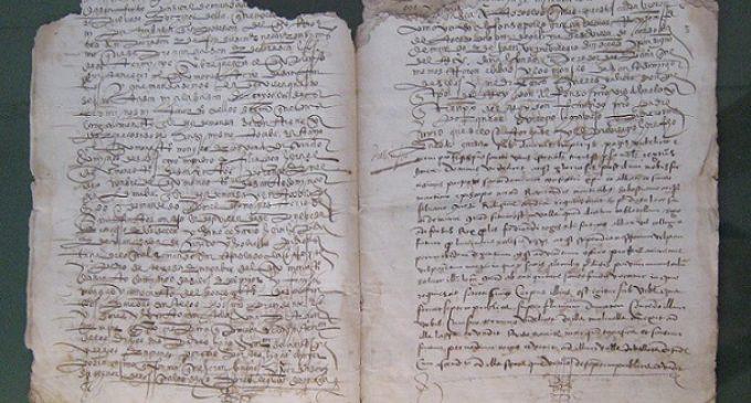 Un tesoro documental de 1546