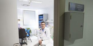 orge Elizaga, jefe del Servicio de Medicina Interna del Hospital General de Segovia