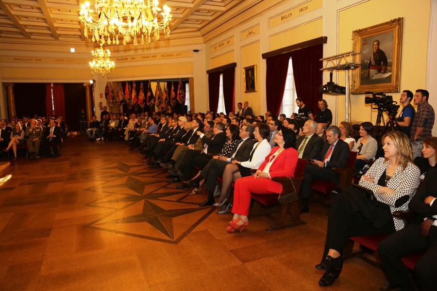 La Academia de Artillería acoge hoy la entrega de la VII edición de los Premios Diputación de <h3 class='enlacePalabraNoticia' onclick='opcionBuscarActualidad('Segovia','')' >Segovia</h3>