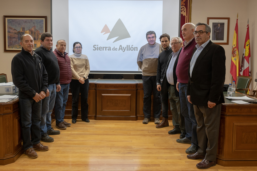 La Asociación de Municipios Sierra de <h3 class='enlacePalabraNoticia' onclick='opcionBuscarActualidad('Ayllón','')' >Ayllón</h3> presenta su nuevo logotipo